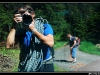 Christophe Kaelbel avec son appareil photo