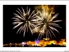 Feu d'artifice St Florent 13 07 2017