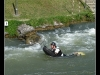 Hydrospeed.Parc des eaux vives à Huningue.