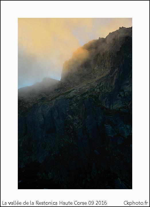 Vallée de la Rastonica. Haute Corse.Corte.