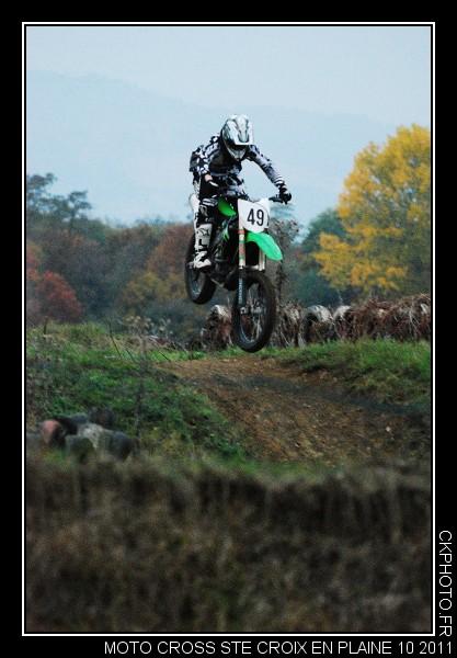 Moto cross à Sainte Croix en Plaine.