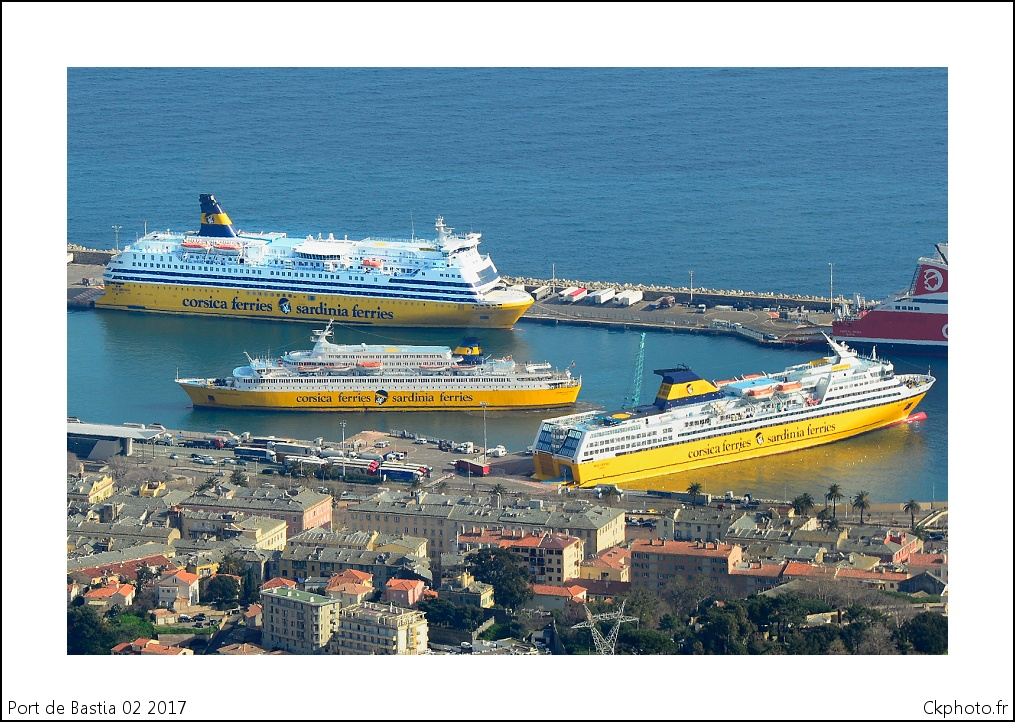 Port de Commerce de Bastia