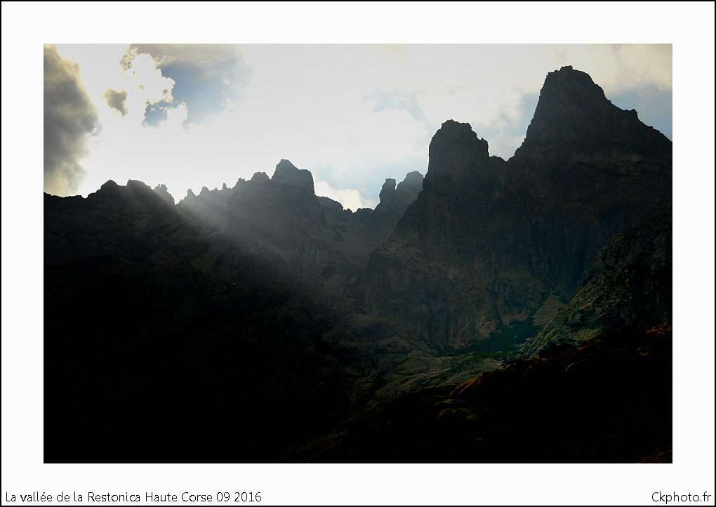 Vallée de la Restonica.Haute Corse.Corte.