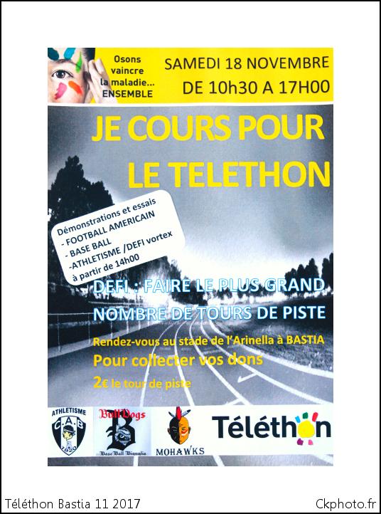 Téléthon Corse 2017